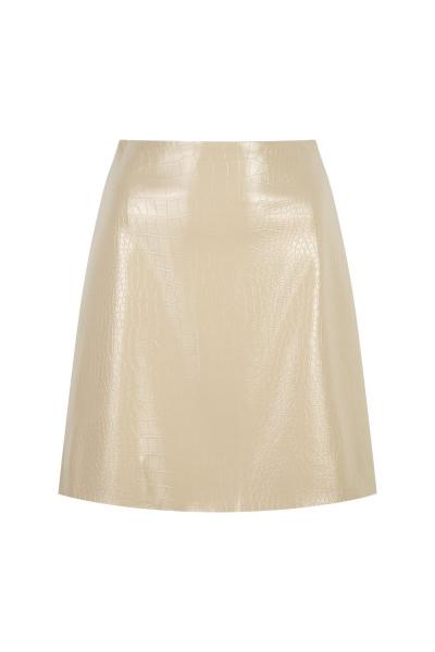 Skirt - Iconic- Python Print - Deep Cream Skirt - Iconic- Python Print - Deep Cream