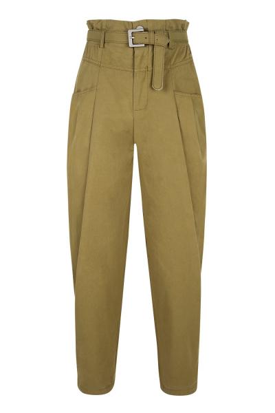 Pants & Belt Set- Gabardine - Paper Bag Style - Khaki Mustard Pants & Belt Set- Gabardine - Paper Bag Style - Khaki Mustard