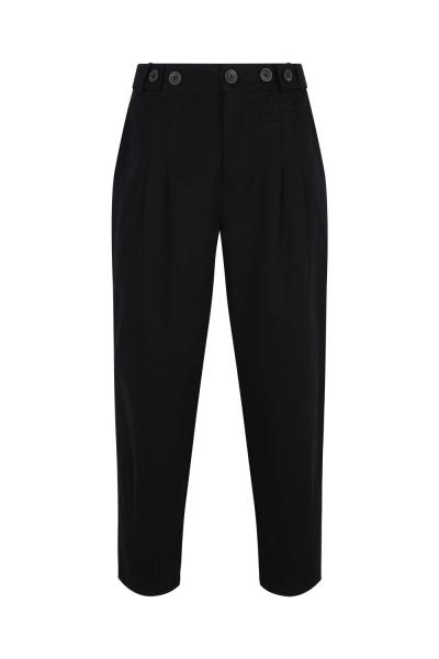 Pantalone Gabardine Black Pantalone Gabardine Black