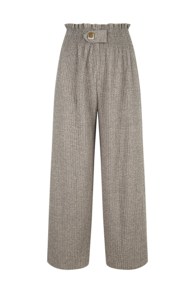 Pantalone Jacquard - Taupe Beige Pantalone Jacquard - Taupe Beige