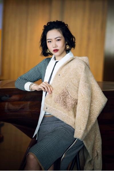 Jacket - Coat - Iconic - Cashmere Blend - Shearling Pocket - Hong Kong Shooting Jacket - Coat - Iconic - Cashmere Blend - Shearling Pocket - Hong Kong Shooting