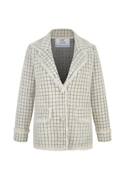Coat - Iconic - Cashmere Blend - Hong Kong  Shooting -White Ecru Coat - Iconic - Cashmere Blend - Hong Kong  Shooting -White Ecru