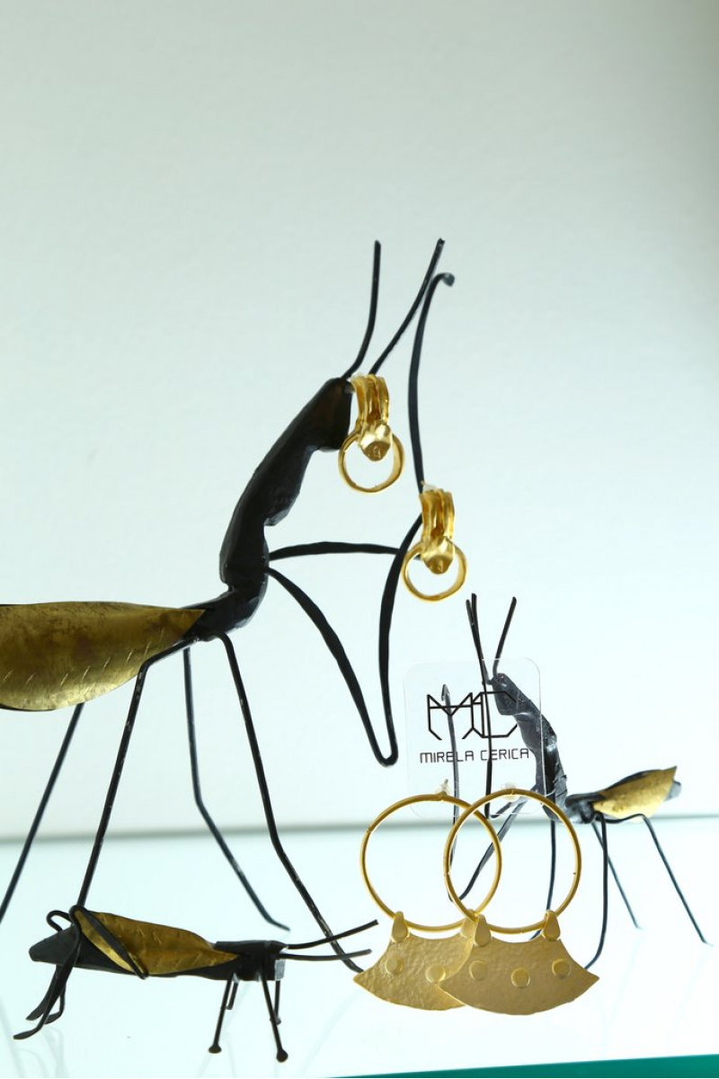 Earring - Before Time - Gold Plated