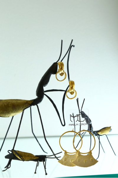 Earring - Before Time - Gold Plated Earring - Before Time - Gold Plated