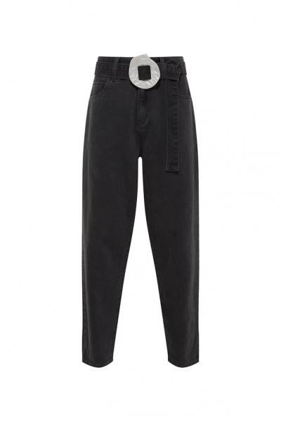 Denim Black Jeans & Real Seashell Belt Accessories *Recycled Cotton* Denim Black Jeans & Real Seashell Belt Accessories *Recycled Cotton*