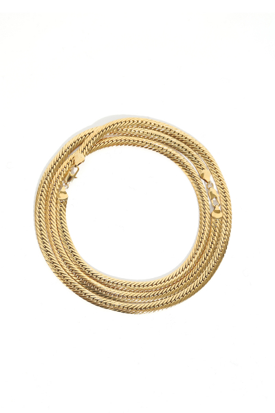Necklace - Yayla #003 - Gold Plated Necklace - Yayla #003 - Gold Plated