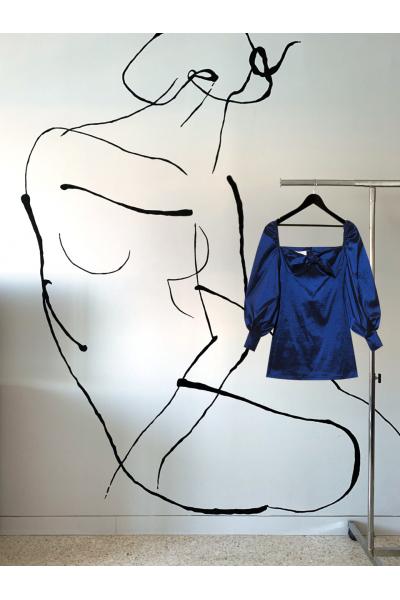 Date Night  - #7 Dress - Saphir Blue Date Night  - #7 Dress - Saphir Blue