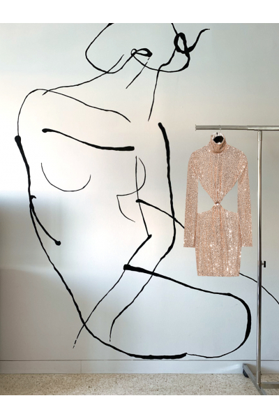 Date Night - #42- Dress - Rose Gold Date Night - #42- Dress - Rose Gold