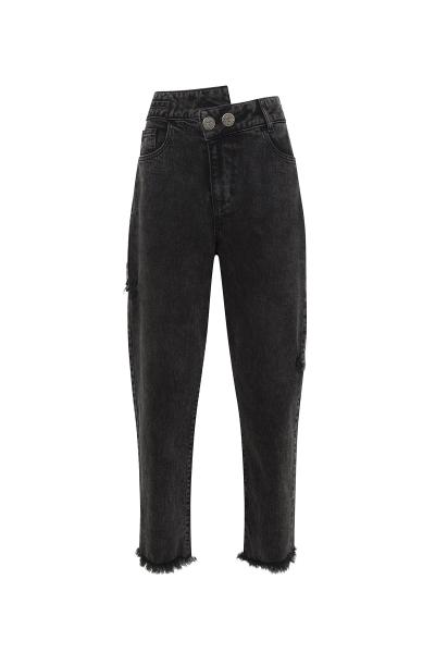 Denim Grey Jeans *Recycled Cotton Denim Grey Jeans *Recycled Cotton