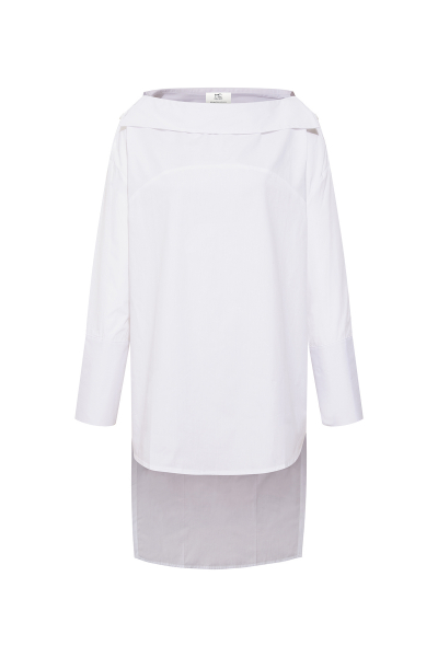 Carmen Collar White Shirt Carmen Collar White Shirt