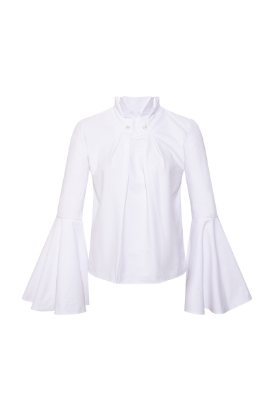 Pearl Brooch White Shirt Pearl Brooch White Shirt