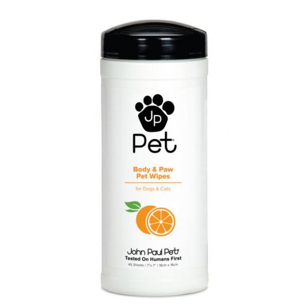John Paul Pet Vücut ve Patiler için Islak Mendil 45mendil John Paul Pet Vücut ve Patiler için Islak Mendil 45mendil