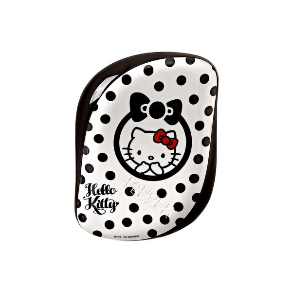 Tangle Teezer Compact Styler Hello Kitty Black White Saç Fırçası Tangle Teezer Compact Styler Hello Kitty Black White Saç Fırçası