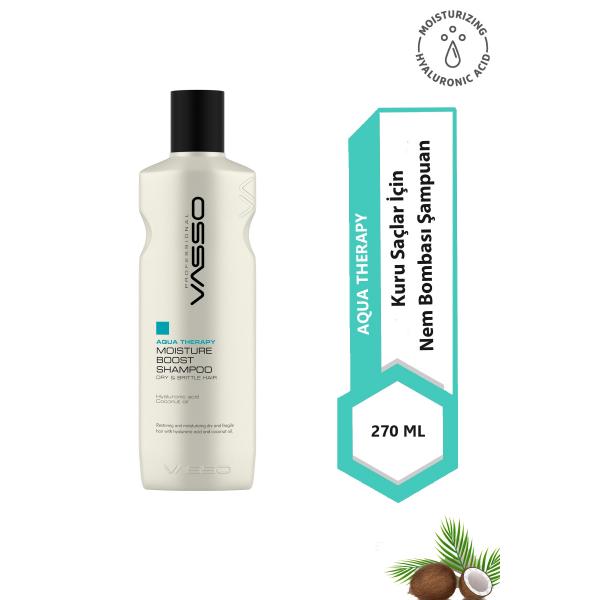 VASSO WOMEN Nem Yükleme Şampuanı - Aqua Therapy Moisture Boost Şampuan 270 ml VASSO WOMEN Nem Yükleme Şampuanı - Aqua Therapy Moisture Boost Şampuan 270 ml