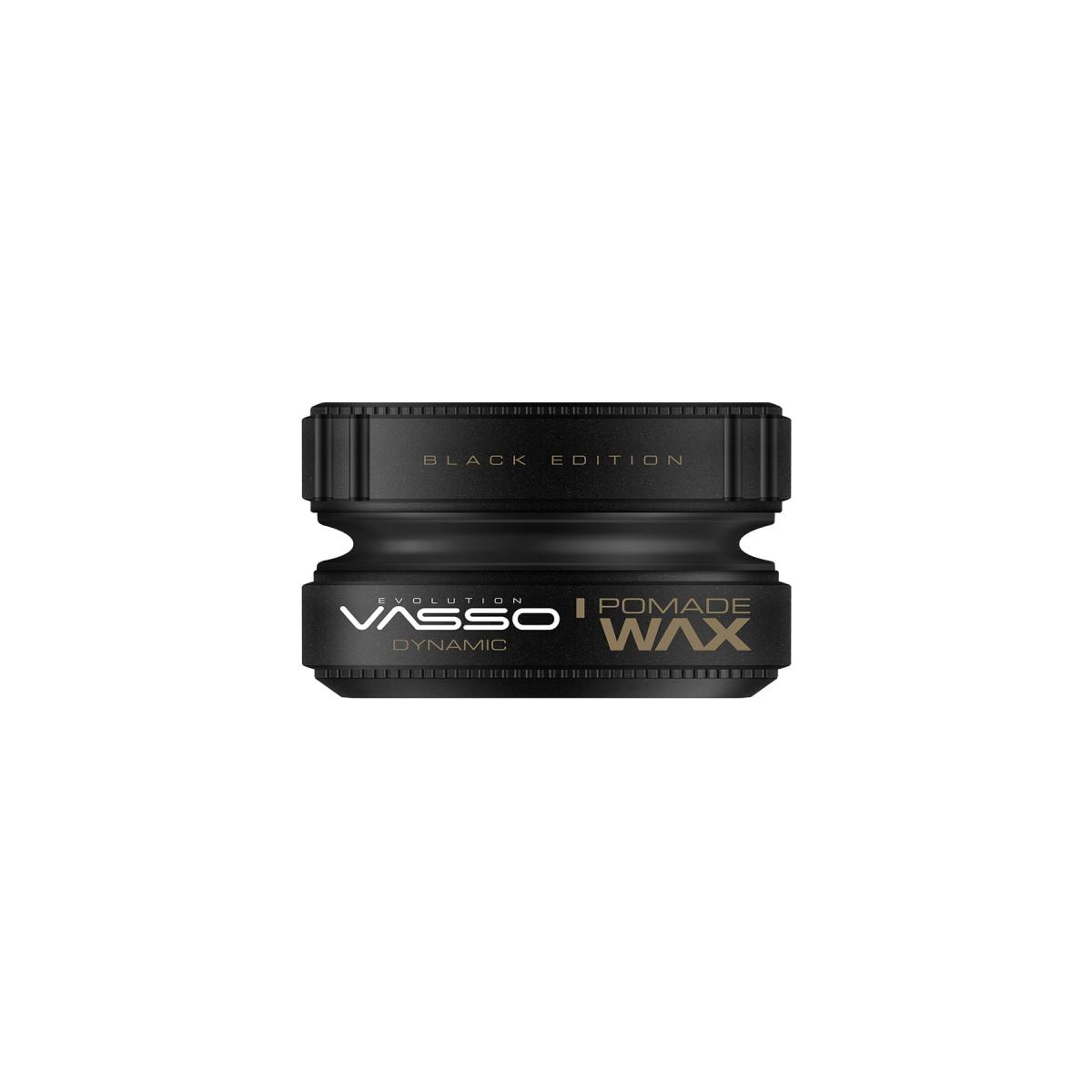 VASSO MAN Süper Tutuş Etkili Islak Görünüm Kazandıran Wax - Vasso Dynamic Pomade Wax 150 Ml