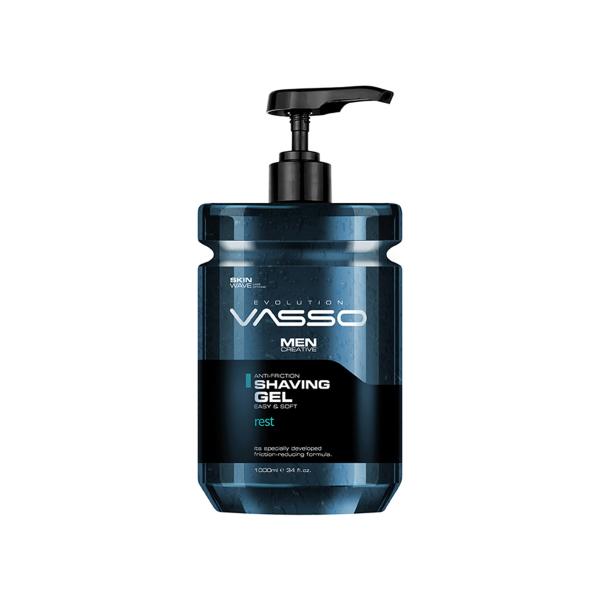 VASSO MAN Profesyonel Şeffaf Ve Köpürmeyen Tıraş Jeli - Vasso Men Shaving Gel 1000 Ml VASSO MAN Profesyonel Şeffaf Ve Köpürmeyen Tıraş Jeli - Vasso Men Shaving Gel 1000 Ml