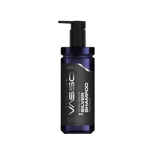 VASSO MAN Gri Ve Beyaz Saçlar Için Şampuan - Vasso Men Protein Keratin Silver Shampoo 370 Ml  VASSO MAN Gri Ve Beyaz Saçlar Için Şampuan - Vasso Men Protein Keratin Silver Shampoo 370 Ml