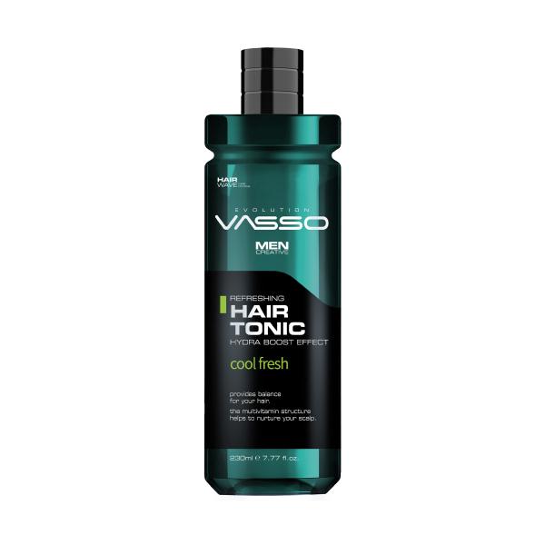 VASSO MAN Mentol Ve Multivitaminli Saç Toniği - Hair Tonic 260 Ml VASSO MAN Mentol Ve Multivitaminli Saç Toniği - Hair Tonic 260 Ml