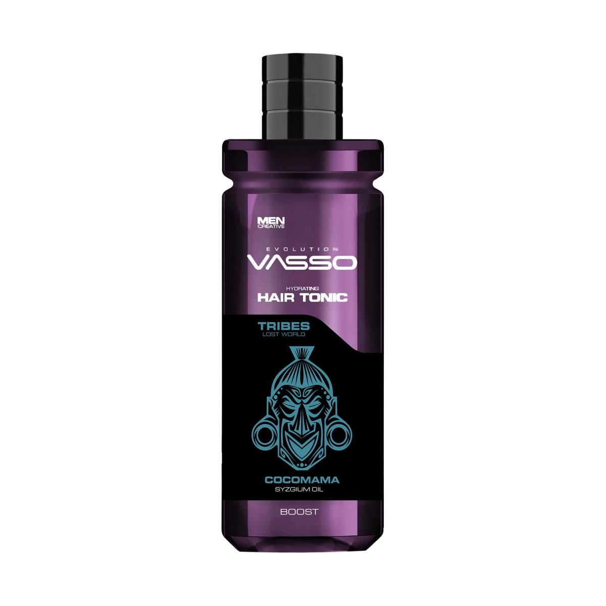 VASSO MAN Zayıf Saçlar Için Canlandırıcı Saç Toniği - Tribes Cocomama Hair Tonic 260 Ml
