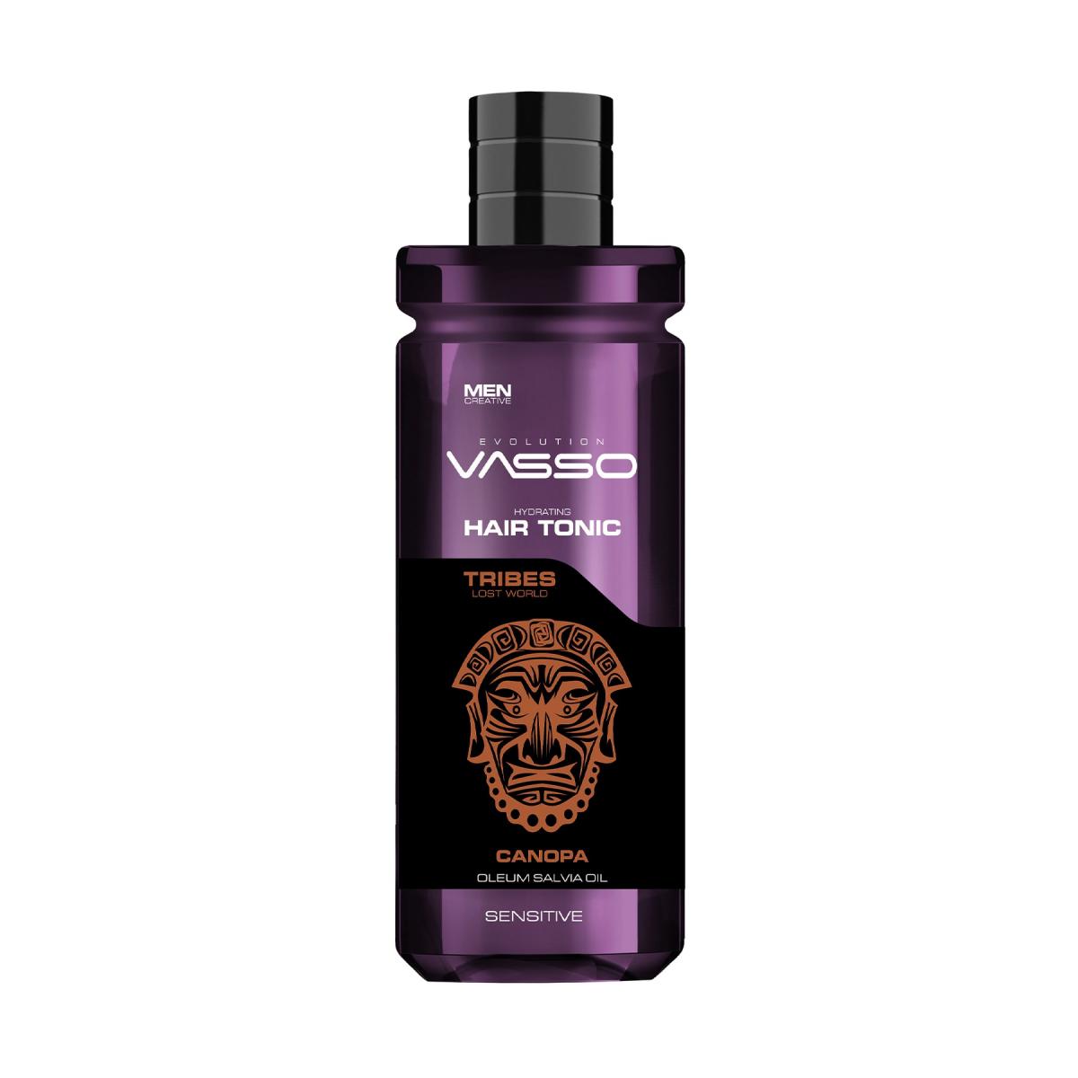 VASSO MAN Hassas Saç Derisi Için Rahatlatıcı Saç Toniği - Tribes Canopa Hair Tonic 260 Ml
