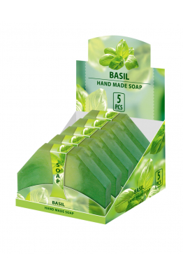 Hand Made Glycerin Soap BASIL