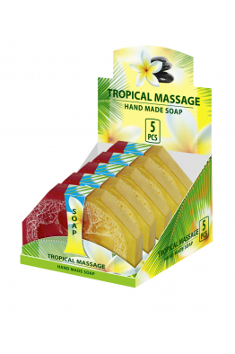 Hand Made Glycerin Soap TROPICAL MASSAGE