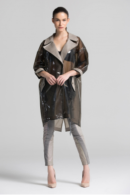 Tuba Ergin Raincoat Jacket