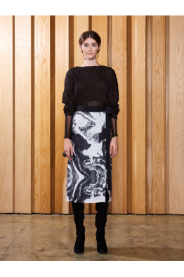 Tuba Ergin FW17029 skirt