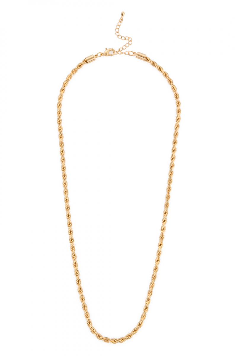 Gold Cadena Corta Kolye