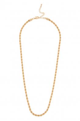 Hola Design Gold Cadena Corta Kolye
