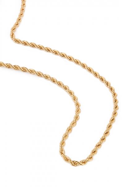 Gold Cadena Corta Kolye Gold Cadena Corta Kolye