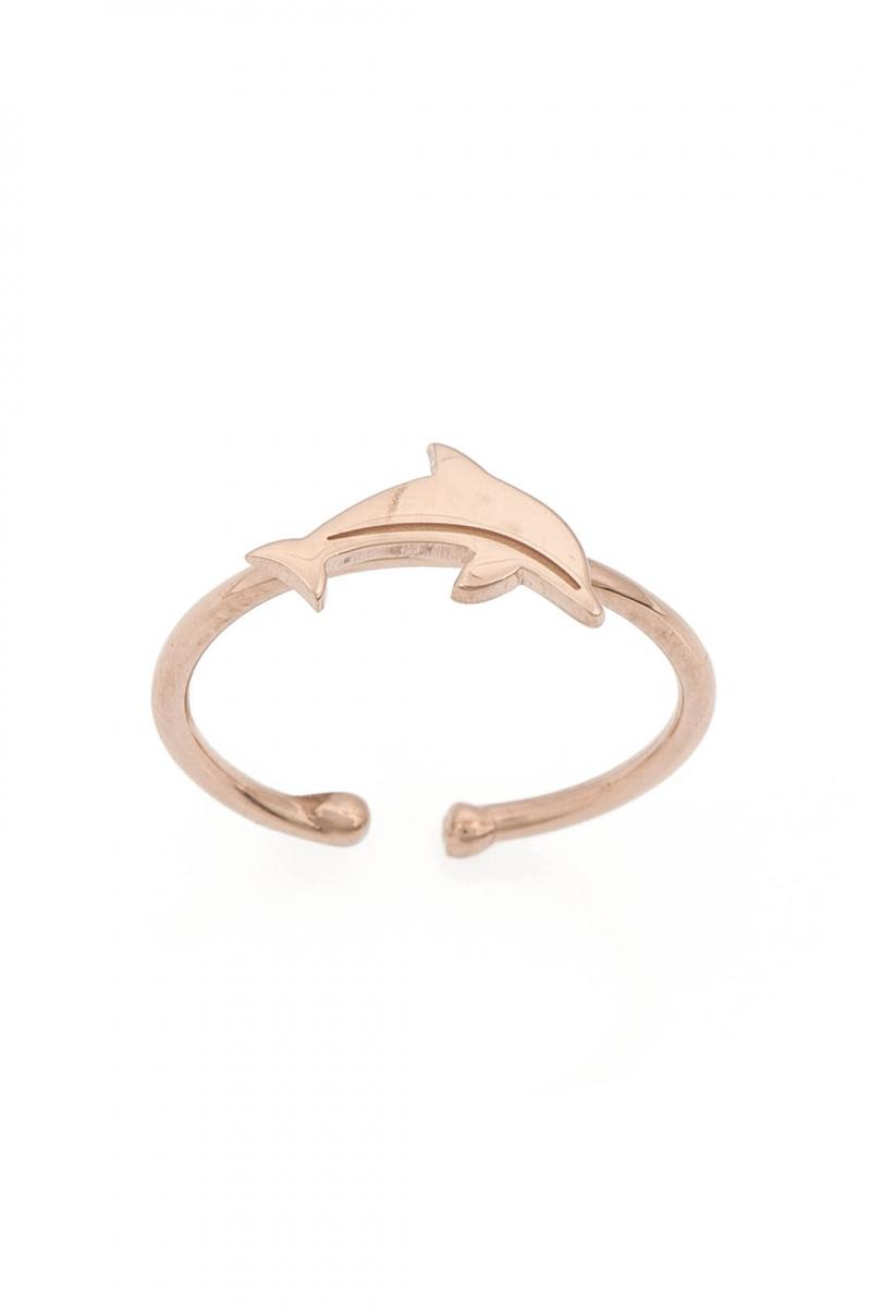 Delfin Ayak Parmak Yüzük
