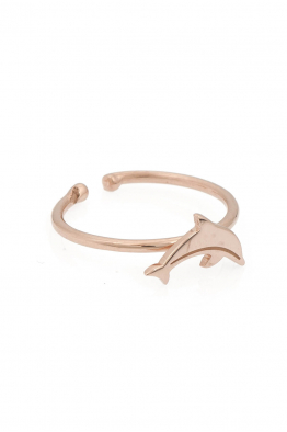 Hola Design Delfin Ayak Parmak Yüzük