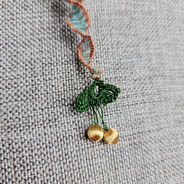 Buket Fular - Yeşil/Kahverengi