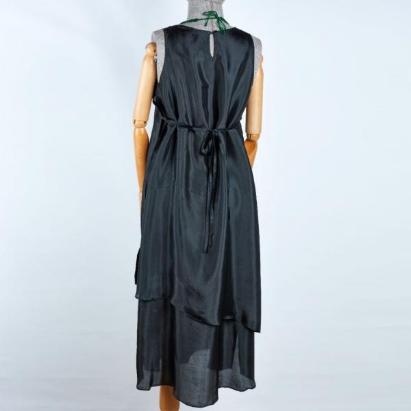 İpek iki katlı elbise