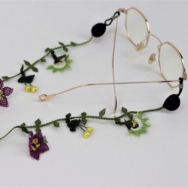 Gözlük ve Maske İpi ( Bahar ) - Yeşil Gözlük ve Maske İpi ( Bahar ) - Yeşil