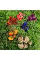 Düğün Çiçeği Broş - Yeşil