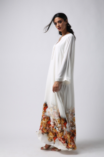 Women's Dress-Autumn-Assemblied Arm