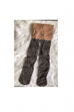 Kız Çocuk Kahverengi Leopar Desenli İnce Külotlu Çorap