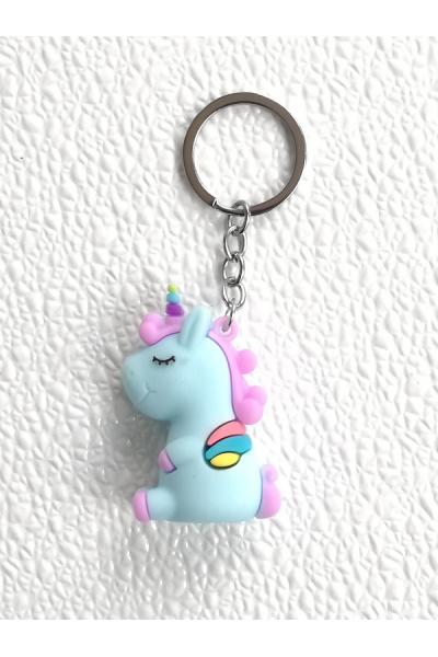Unicorn Silikon Anahtarlık