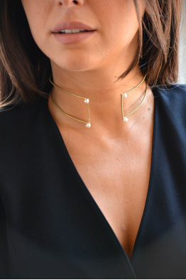Linya Jewellery İnci Choker