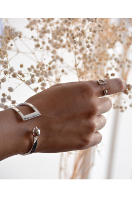 Linya Jewellery Gümüş Toplu Kelepçe