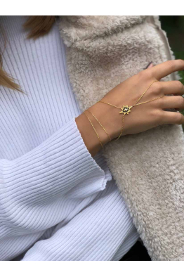 Linya Jewellery Kutup Yıldızı Şahmeran & Gold