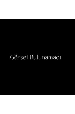Linya Jewellery  Bordo Asimetrik Halka Küpe Gold