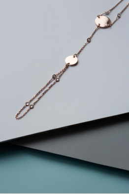 Linya Jewellery Yuvarlak Plakalı Şahmeran