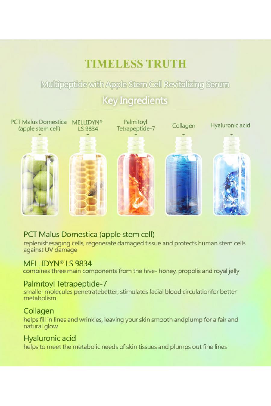 Elma Kök Hücreli Multipeptid Canlandırıcı Serum