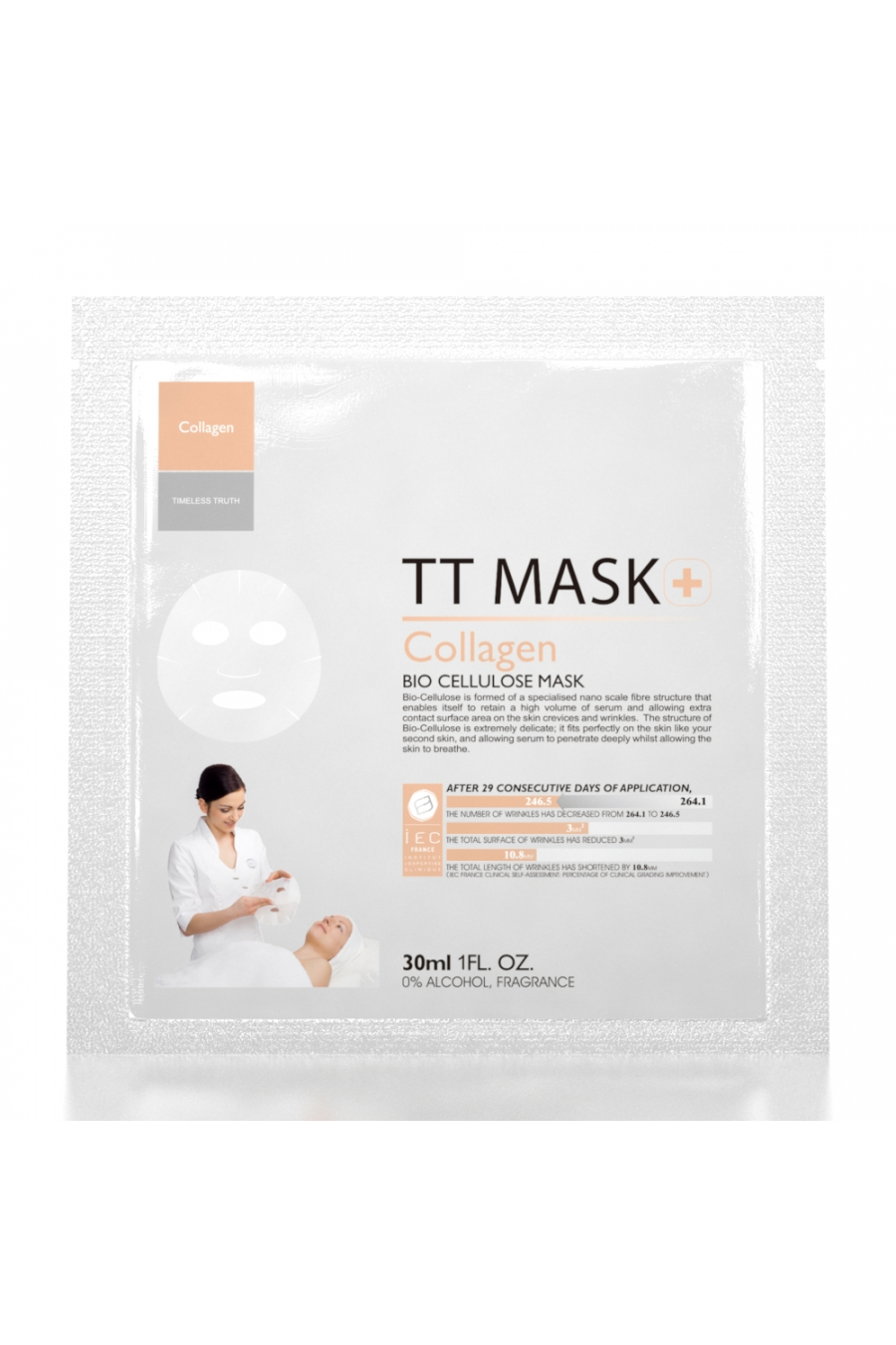 Kolajen Biyoselüloz Maske (3 Adet)
