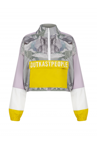 OUTKASTPEOPLE BUBBLE GUM ANORAK