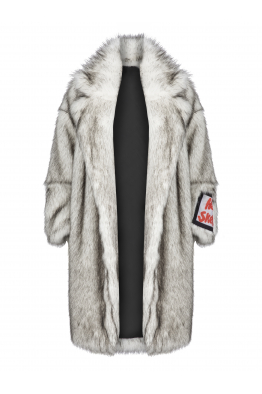 OUTKASTPEOPLE HELTER SKELTER FAUX FUR COAT