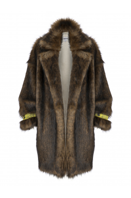 OUTKASTPEOPLE HERA FAUX FUR COAT